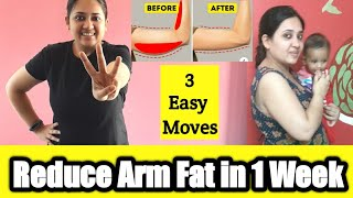 3 simple exercise to Reduce Arm Fat | Slim Arm Workout | 1 Minute exercise To Lose Arm Fat Fast