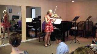 Hailey Scatchard - Wieniawski Second Concerto in D Minor