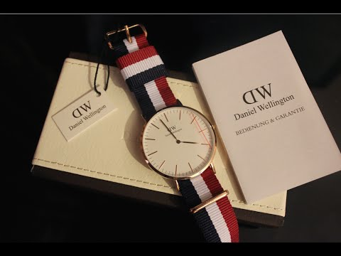 Daniel Wellington Men's Classic Cambridge [Rose Gold] Watch - Unboxing & Review