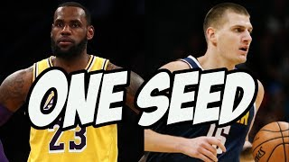 Who Gets The 1 Seed in the Western Conference? 2020 NBA Preview