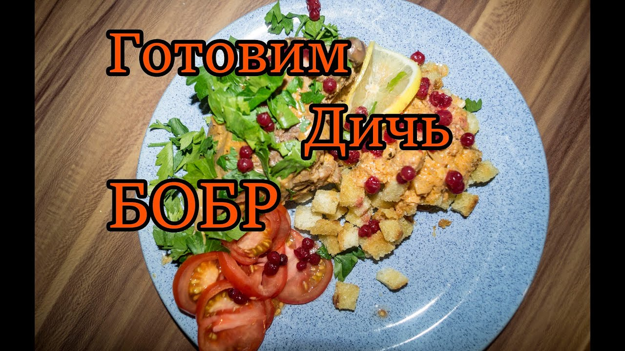 Приготовление бобра рецепты