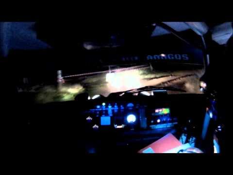Steve Perez High Speed Crash Lancia Stratos RAC Rally 2013