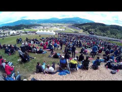 Formula 1 Flag Cam - Austrian Grand Prix 2015 [HD]