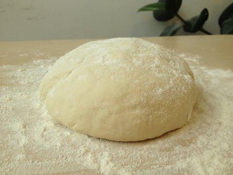 Тесто для Пиццы, Очень Просто и Вкусно | Pizza  Dough  Recipe, English Subtitles)