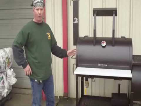 "Gator Pit of Texas 24"" Party Gator Model BBQ Smoker Grill"