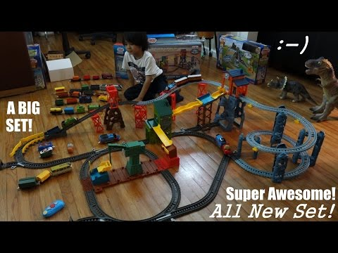 All New Thomas & Friends Trackmaster: Mad Dash On Sodor Set Playtime video