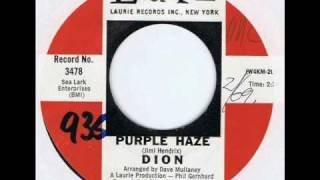 Watch Dion Purple Haze video