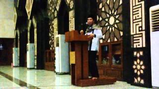 Indahnya Ceramah Nuzulul Qur'an Oleh DR H M Guntur Alting di Masjid Agung At-Tin
