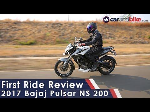 Bajaj Pulsar NS200 First Ride Review - NDTV CarAndBike