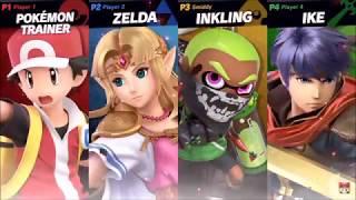 Super Smash Bros Ultimate - Moray Towers  - HD Gameplay