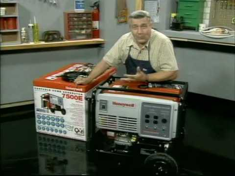 HW7500E Honeywell Generator: Being Prepared For Electric Power Outages. Part 1 of 2