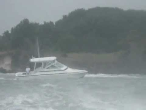 ss-minnow crusing in hurricane carolina beach north carolina