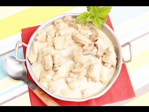 Фрикасе из курицы с грибами / Chicken Fricassee Recipe