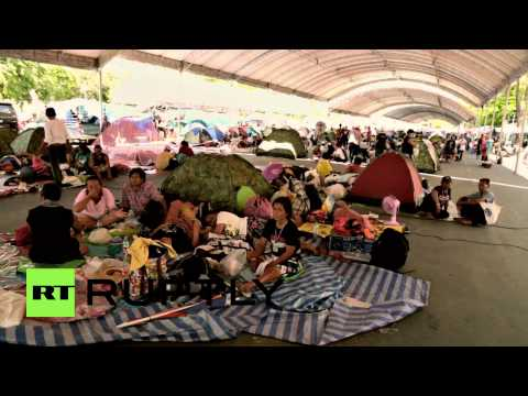 Thailand: Protesters flock to anti-government camp after deadly attack