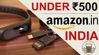 5 Cool Gadgets On Amazon India Under Rs. 500 | Hindi