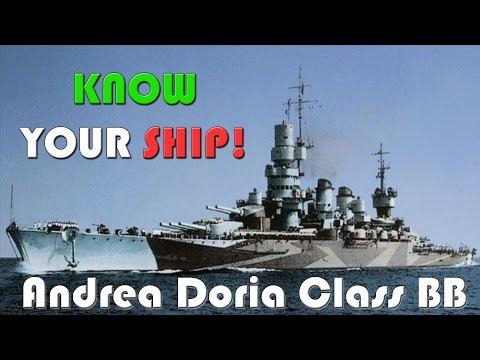 World of Warships - Know Your Ship #34 - Andrea Doria Class Battleship