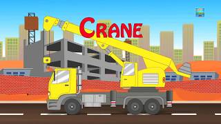 learn street vehicle by kids fun cartoon tv for children and babies