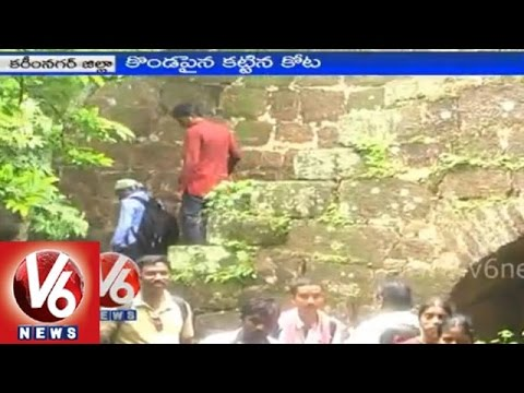 Karimnagar Ramagiri Killa an historical place in Telangana