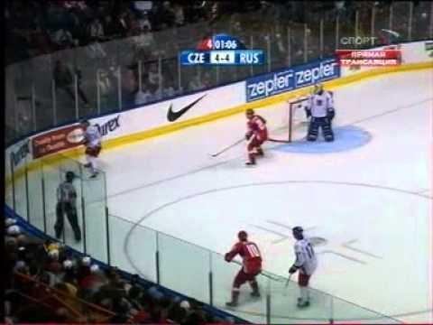 ЧМ по хоккею 2008,  Россия - Чехия, овертайм