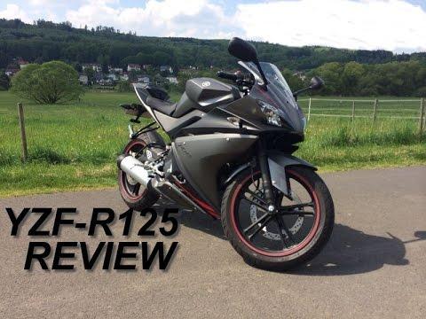 Yamaha YZF-R125 REVIEW - German / Deutsch