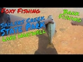 Bank Fishing at Sadlers Creek, Lake Hartwell