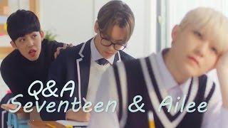 Seventeen & Ailee - Q&A [Sub. Esp + Rom + Han]