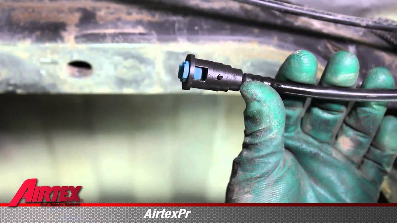 How To Install Fuel Pump Module Assembly E7116m In A 1999 Dodge Dakota