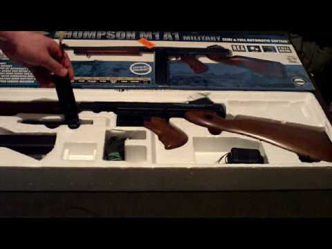 Cybergun Thompson M1a1 Disassembly Cybergun Thompson M1a1 Airsoft
