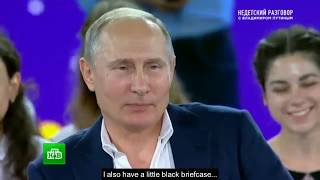 Putin: I'm just an ordinary person