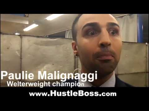 Paulie Malignaggi reacts to Manny Pacquiao's knockout loss and speaks on facing Shane Mosley