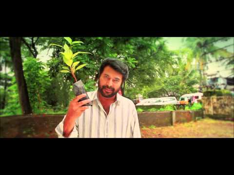 Mammootty's Challenge to Shah Rukh Khan, Surya and Vijay to Plant a Tree