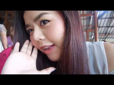 Vlog ไปงานแต่งพี่, พาไปดูบ้านที่เคยอยู่, ตลาดโรงเกลือกาญจนบุรี | A Day in My Life 23/10/14