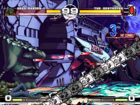 MUGEN : Title Bout Drax vs The Destroyer