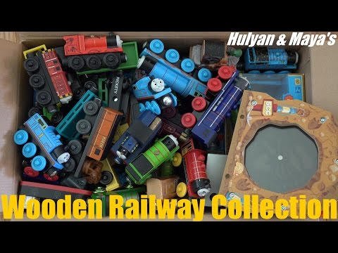Some Of Hulyan And Maya's Thomas & Friends Wooden Railway Collection :-) video