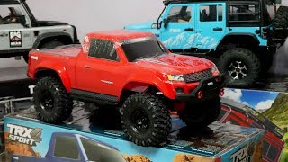 Traxxas TRX4 SPORT │ UNBOXING and Something.