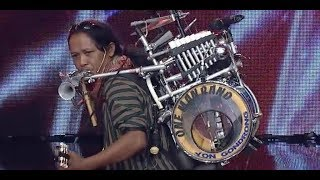One Man Band By Yon Gondrong Indonesia 39 S Got Talent