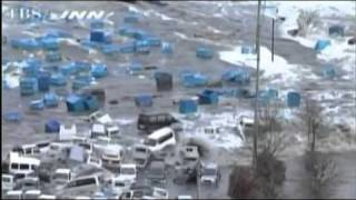 Tsunami Hits  8.9 Japan Earthquake : 2011