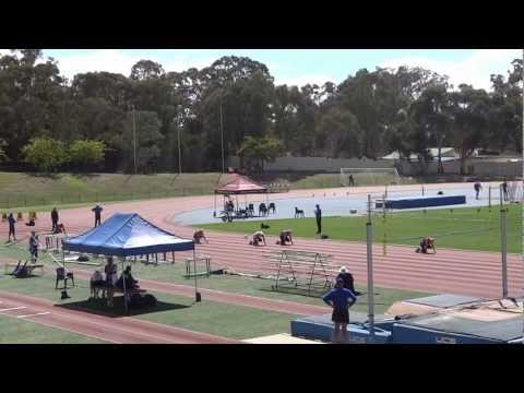 National Masters Championships 2013 - 30/03/2013: Men Masters 100m Champion - Greg S