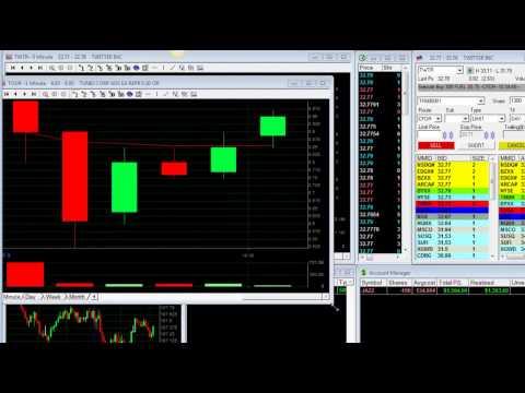 Day Trading stocks -- $2,500 in 60 min. -- Meir Barak