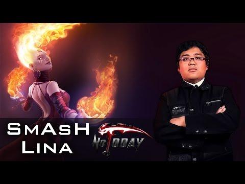 SmAsH Lina - Public Gameplay Dota 2