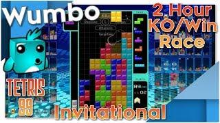 (85+ Win Streak) Tetris 99 Invitational - 2 Hour KO/Win Race