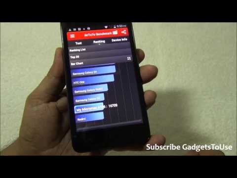 Micromax Unite 2 Hardware Benchmark and Gaming Review