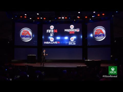 EA Sports - Xbox One First Preview: Fifa 14, UFC, NBA 14, Madden