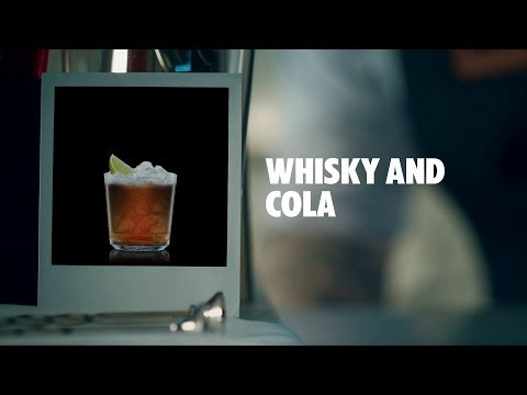 WHISKY AND COLA DRINK RECIPE - HOW TO MIX
