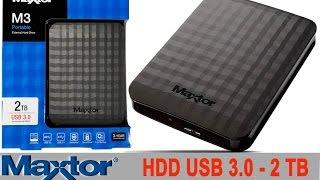 Disque dur externe noir HDD 2.5\