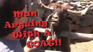 Man Vs Goat! Hilarious!! MUST WATCH!! LMAO!!
