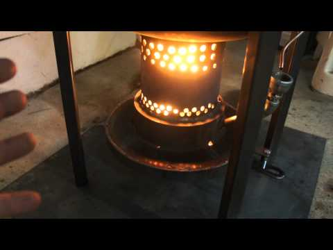 Waste Oil Heater Experiment 3