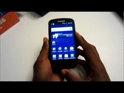 Samsung Galaxy S Lightray 4G for MetroPCS Unboxing