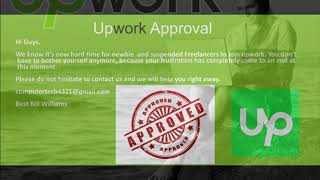HACKING UPWORK   WE CAN HELP YOU GET YOUR PROFILE APPROVED ON UPWORK