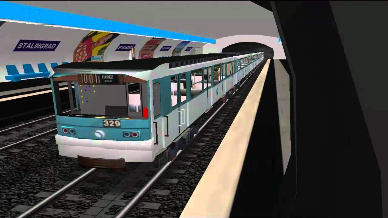 msts metro parisien ligne 5 eglise de pantin place d